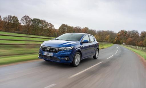 La Dacia Sandero est la voiture la plus vendue en France en juin