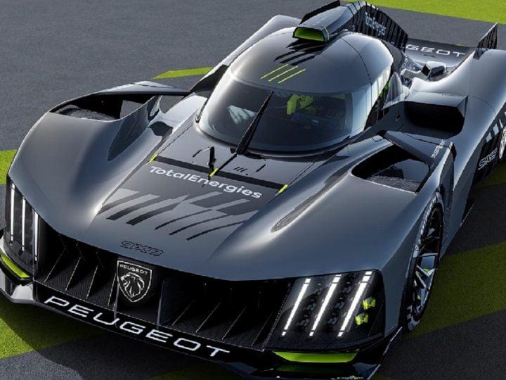 Peugeot dévoile une voiture de course hybride pour le retour du Mans – electrive.com