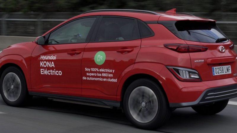 Le Hyundai Kona électrique réalise un record d'autonomie