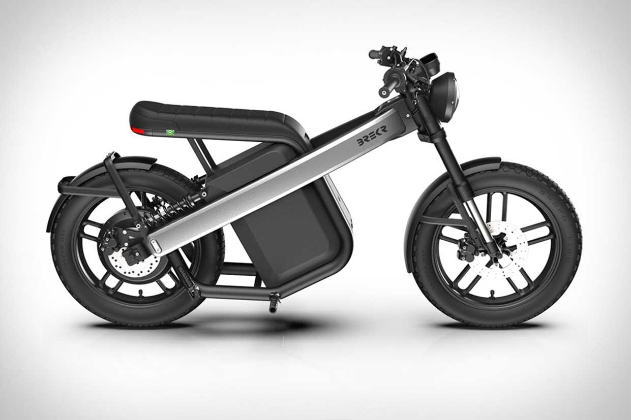 Brekr Model B: la petite moto électrique monte en puissance