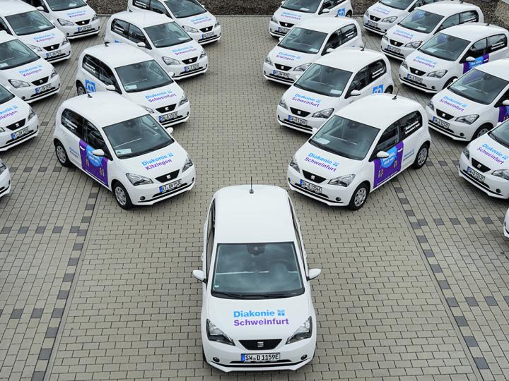 Schweinfurt : Diakonie rend la Seat Mii électrique abordable – electrive.com