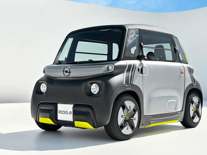 Opel lance une émanation de la Citroën Ami à l'automne