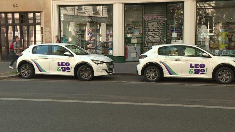 une nouvelle flotte de véhicules en autopartage