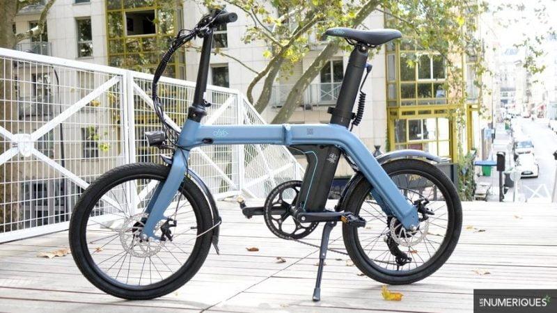 Test Fiido D11 : un vélo électrique pliant, élégant et endurant, mais rustre