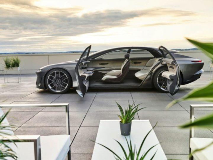 Audi Grandsphere Concept, la première classe vers l'avenir