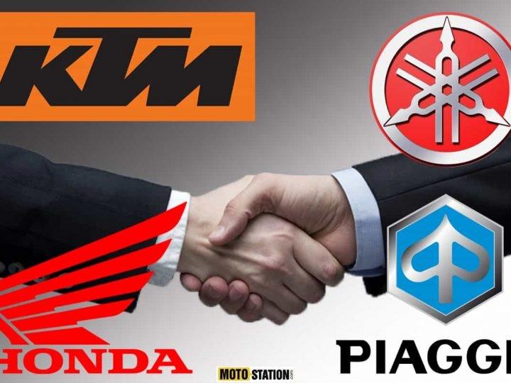Consortium Honda, Yamaha, KTM, Piaggio (SBMC) : vers des batteries électriques en commun