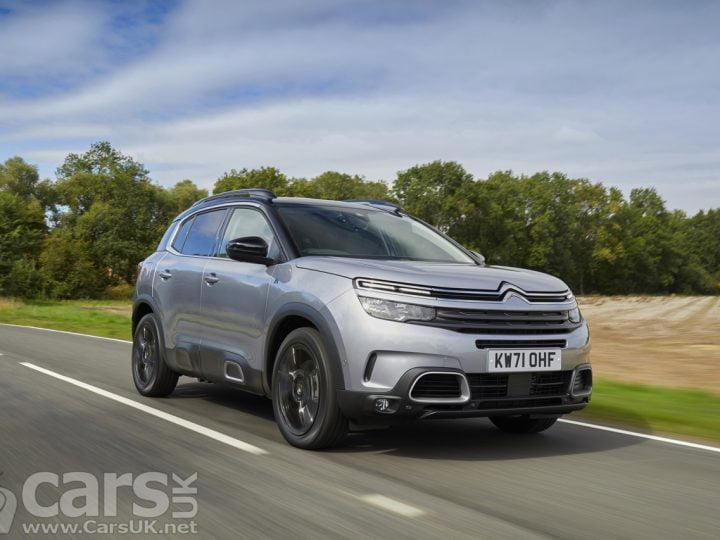 Citroën C5 Aircross SUV PHEV 'Black Edition' arrive au sommet de la gamme C5 Aircross |  Voitures Royaume-Uni