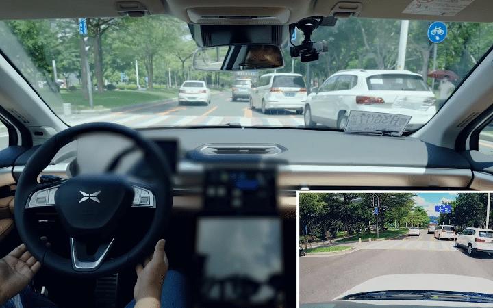 P5 de XPeng Motors : la conduite autonome en ville est un succès