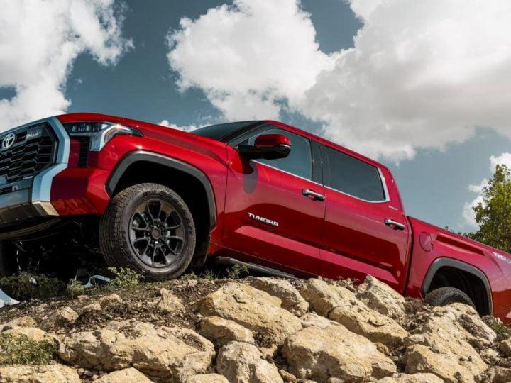 Toyota Tundra (2022): gros renouveau pour le pick-up américain d'origine japonaise