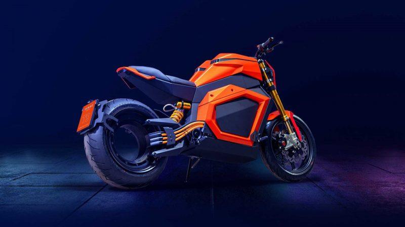 Verge TS: Une moto électrique assez impressionnante