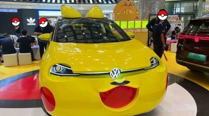 Volkswagen crée une Pikachu-mobile avec son nouveau SUV électrique ID.4 X