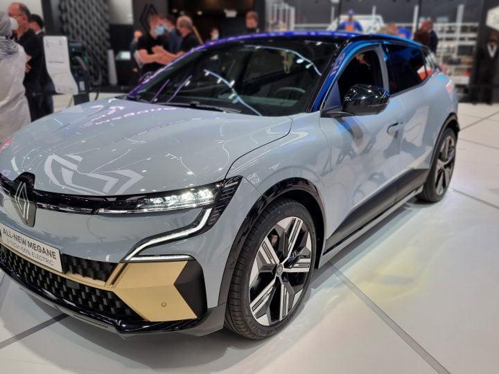 Renault annonce sa Mégane E-Tech 100% électrique