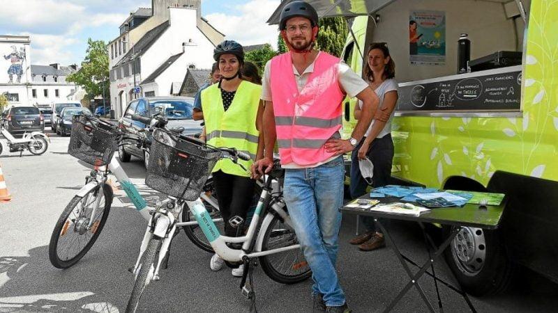 À Châteaulin, le vélo électrique au banc d'essai de la Journée mobilité