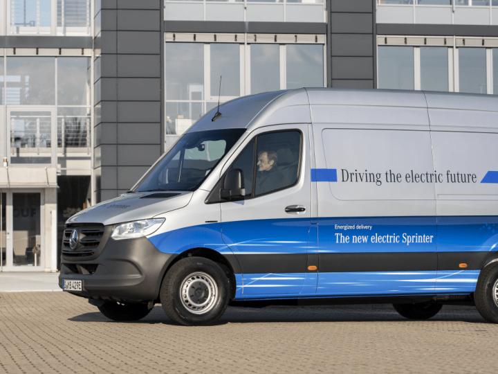 La filiale britannique Hermes commande 168 Mercedes eSprinter