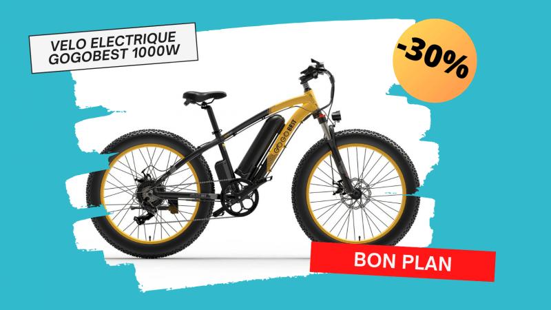 Le vélo électrique GOGOBEST GF600 1000w à -30% ! – Maison et Domotique