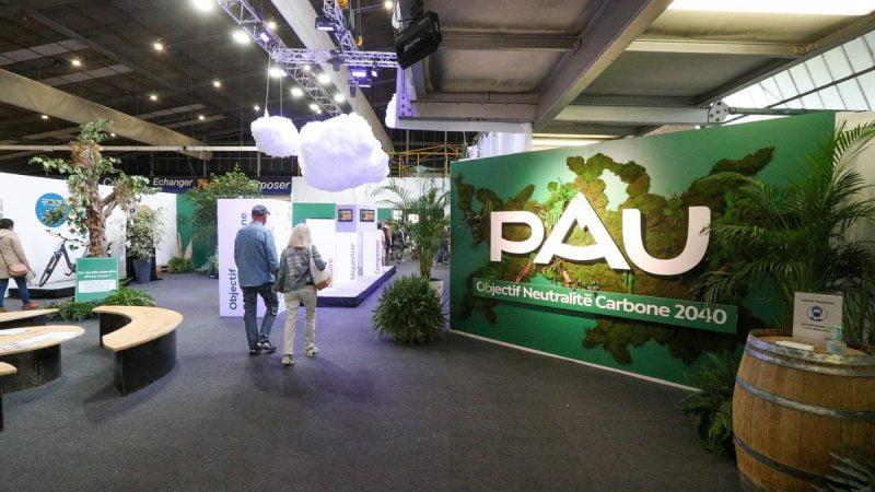 Foire de Pau : un stand sur la neutralité carbone