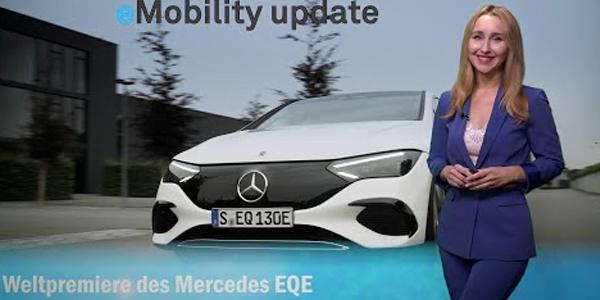 Mise à jour eMobility : Mercedes EQE en première mondiale, Audi dévoile « Grandsphere Concept », BMW City Stromer