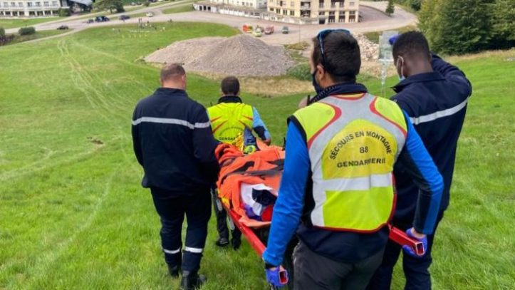 Ventron – Un homme victime d'une lourde chute à trotinette – Remiremontvallées.com