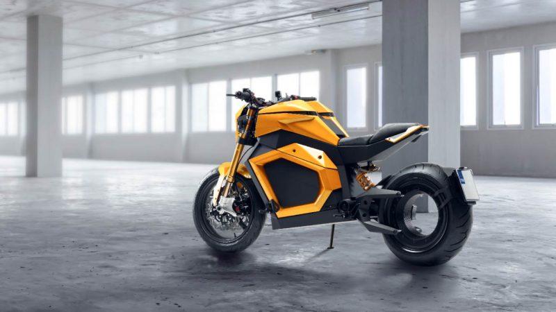 Verge TS : l'étonnante moto électrique sans moyeu arrivera en 2022